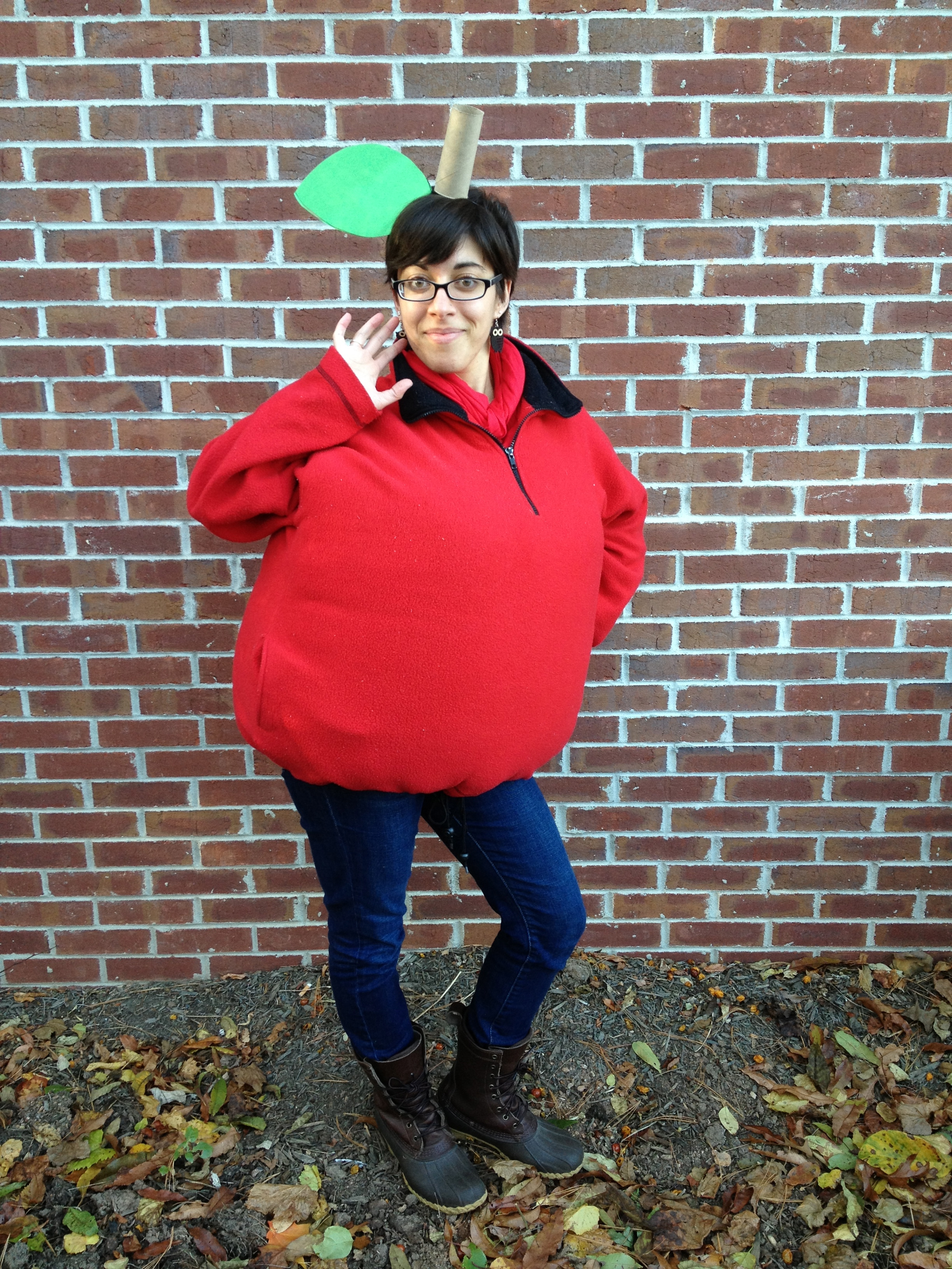 super fun halloween we havent had any trick or treaters which is a bummer but it was fun nonetheless and i felt awesome in my costume - Apple Halloween Costumes