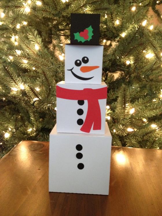 Box Snowman!