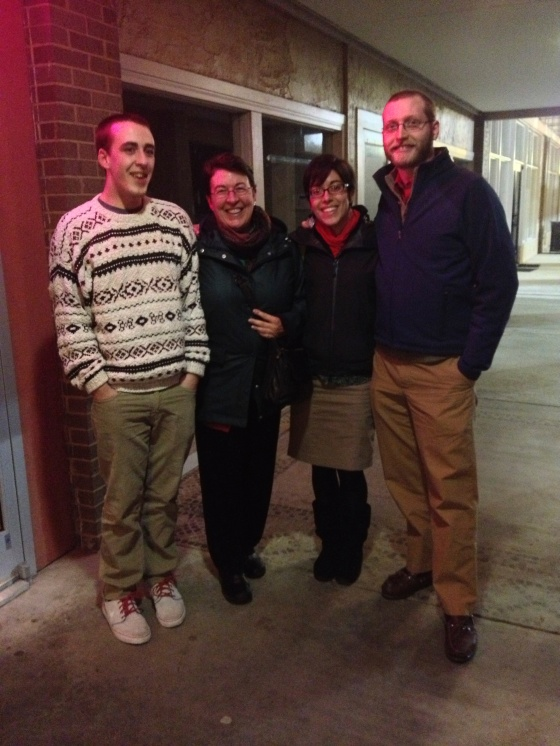 Family dinner out for Chinese on Christmas Eve!