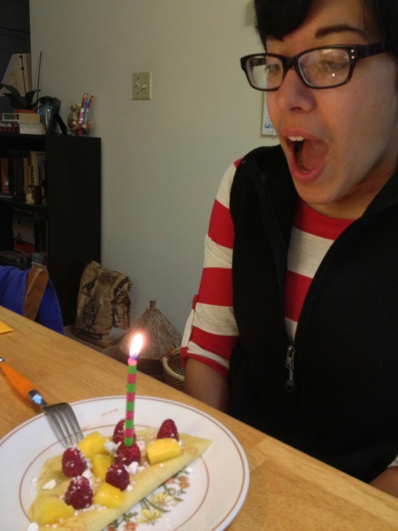 Birthday candle!