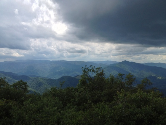 View from the top of Mount Pisgah
