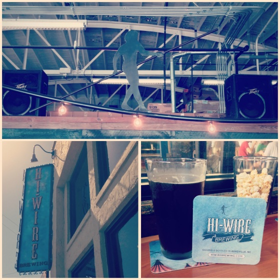 A Visit to Hi-Wire Brewing!