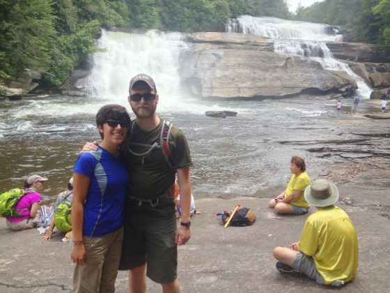Us at Triple Falls
