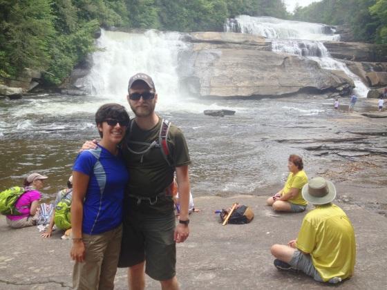 Us at Triple Falls