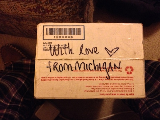 Love from Michigan