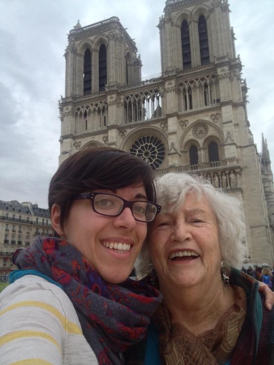 Selfie at Notre Dame