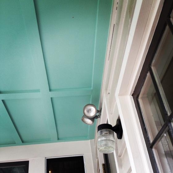 Haint Blue Ceiling