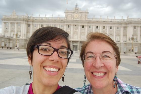 Palacio Real Selfie